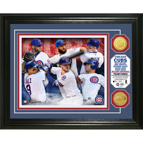 """Photo of Chicago Cubs """"Team Force"""" Bronze Coin Photo Mint"""