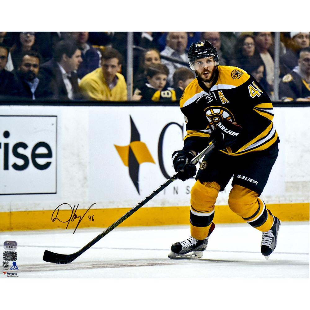 David Krejci Boston Bruins Autographed 16