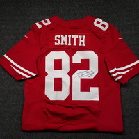 49ERS - TORREY SMITH SIGNED AUTHENTIC 49ERS JERSEY - SIZE 40