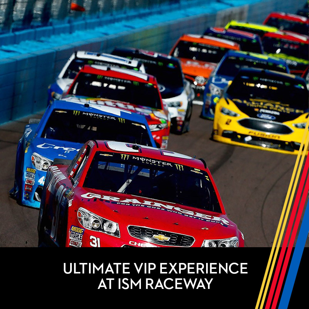 Ultimate VIP experience for Two (2) at ISM Raceway!