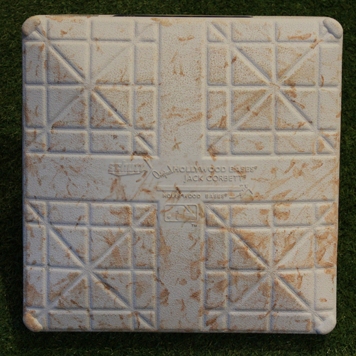 Photo of Game-Used 3rd Base: Chris Sale's 100th Win and Mookie Bett's 100th Home Run (Innings 1-5 - BOS @ KC - 7/6/18)