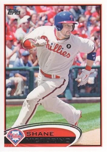 Photo of 2012 Topps #449 Shane Victorino
