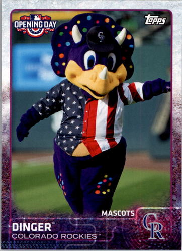 Photo of 2015 Topps Opening Day Mascots #M10 Dinger
