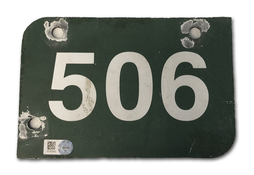 Photo of Wrigley Field Collection -- Aisle Marker 506 -- Removed after 2018 Season