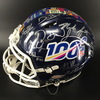 CFP- 2019 NFL Draft Multi-Signed Helmet Featuring 22 signatures, including: Kyler Murray, Nick Bosa, Quinnen Williams, Josh Allen , D.K. Metcalf and more