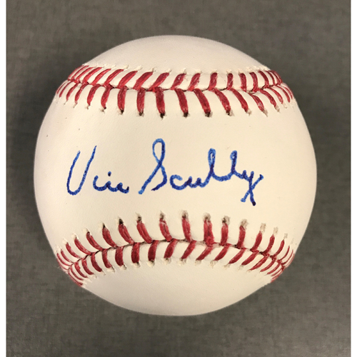 Photo of Vin Scully Authentic Autographed Baseball