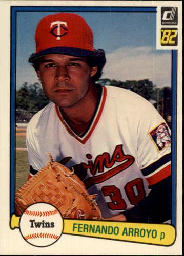 Photo of 1982 Donruss #177 Fernando Arroyo