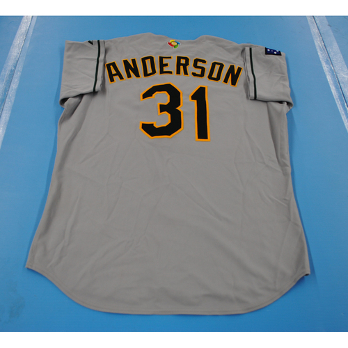 Photo of 2006 Inaugural World Baseball Classic: Craig Anderson Game-worn Team Australia Road Jersey