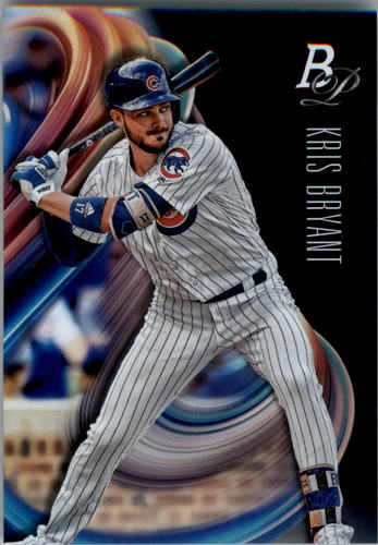 Photo of 2018 Bowman Platinum #1 Kris Bryant