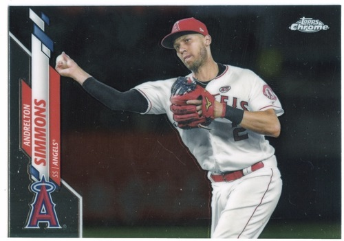 Photo of 2020 Topps Chrome #72 Andrelton Simmons