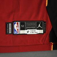 Meyers Leonard - Miami Heat - Game-Worn - Statement Edition Jersey - Christmas Day 2020