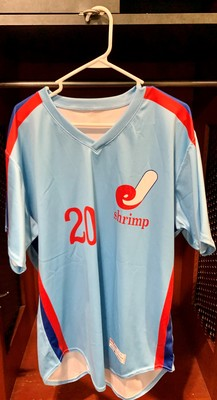 Jacksonville Expos Fauxback Jersey #20 Luis Madero Size 46