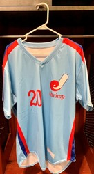Photo of Jacksonville Expos Fauxback Jersey #20 Size 46