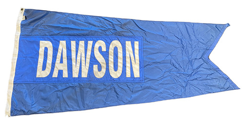 Photo of Wrigley Field Collection -- Rooftop Flag --  Andre Dawson