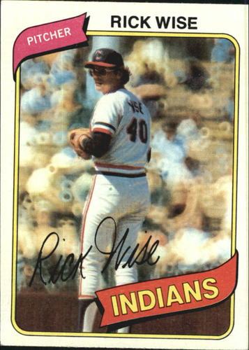 Photo of 1980 Topps #725 Rick Wise