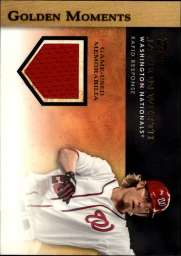 Photo of 2012 Topps Golden Moments Relics #JW Jayson Werth S2