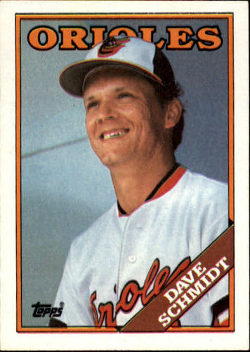 Photo of 1988 Topps #214 Dave Schmidt