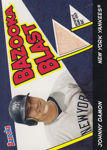 Photo of 2006 Bazooka Blasts Bat Relics #JD Johnny Damon C
