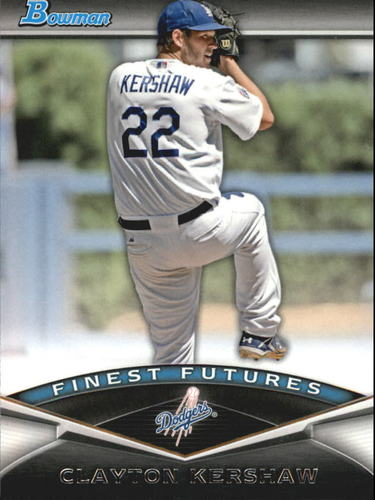 Photo of 2011 Bowman Finest Futures #FF21 Clayton Kershaw