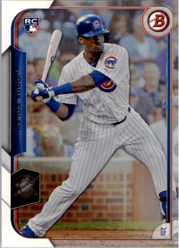Photo of 2015 Bowman #121 Jorge Soler Rookie Card
