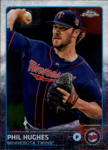 Photo of 2015 Topps Chrome #185 Phil Hughes