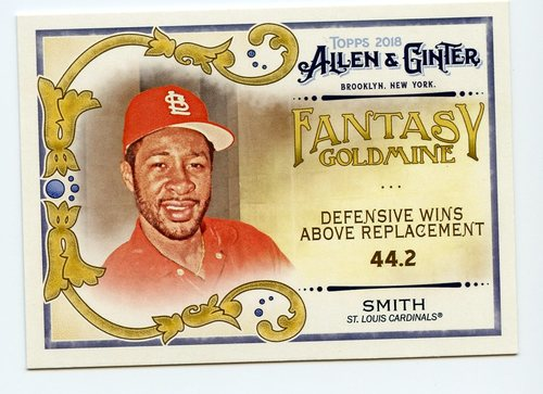 Photo of 2018 Topps Allen and Ginter Fantasy Goldmine #FG28 Ozzie Smith