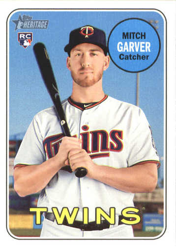 Photo of 2018 Topps Heritage #529 Mitch Garver RC