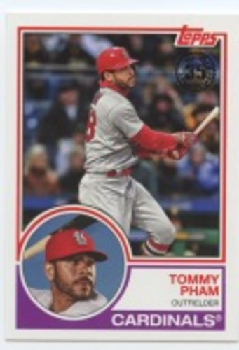 Photo of 2018 Topps Update '83 Topps #8320 Tommy Pham