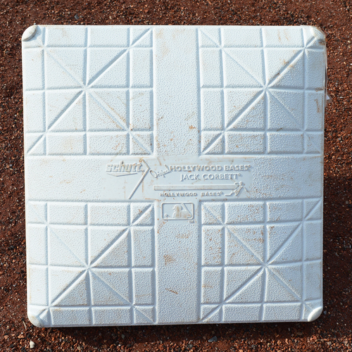 Photo of Game Used Base - Subway Series - 3rd Base, Innings 7-9 - Mets vs. Yankees - 6/10/18