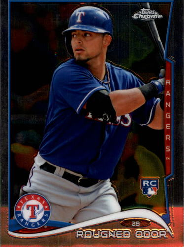 Photo of 2014 Topps Chrome #213 Rougned Odor RC
