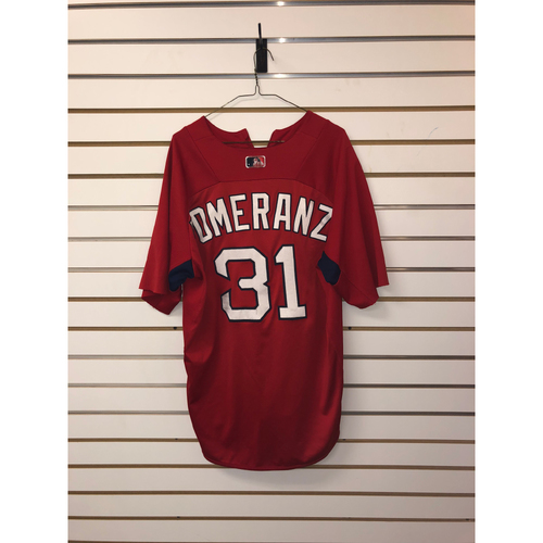 Photo of Drew Pomeranz Team-Issued Home Batting Practice Jersey