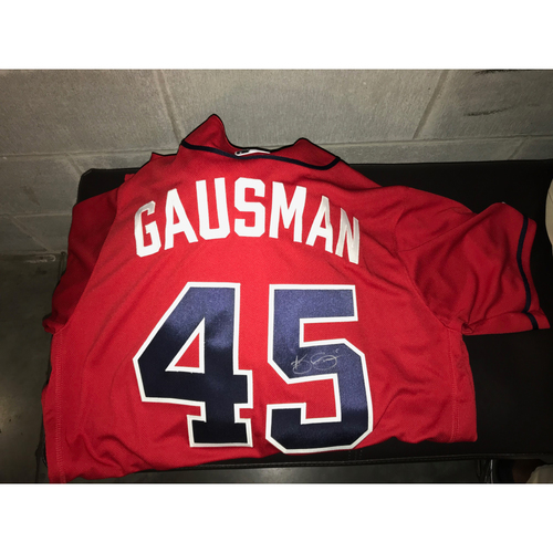 Photo of Kevin Gausman Game-Used Autographed Jersey
