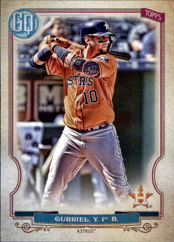 Photo of 2020 Topps Gypsy Queen #157 Yuli Gurriel