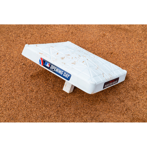 Photo of 2020 Opening Day Game-Used Base - 2nd Base