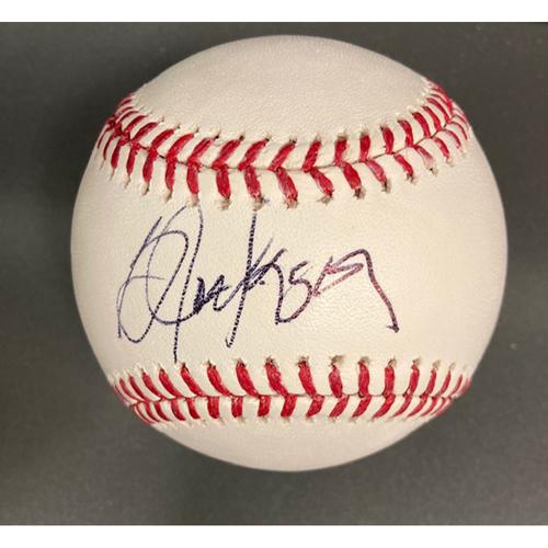 Bo Jackson Autographed Baseball