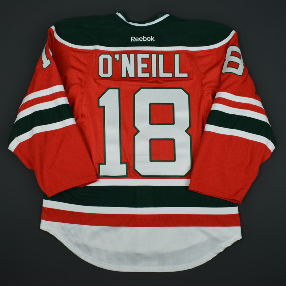 timeless design 7202b 259ad Brian O'Neill - New Jersey Devils - Retro Night Game-Issued ...
