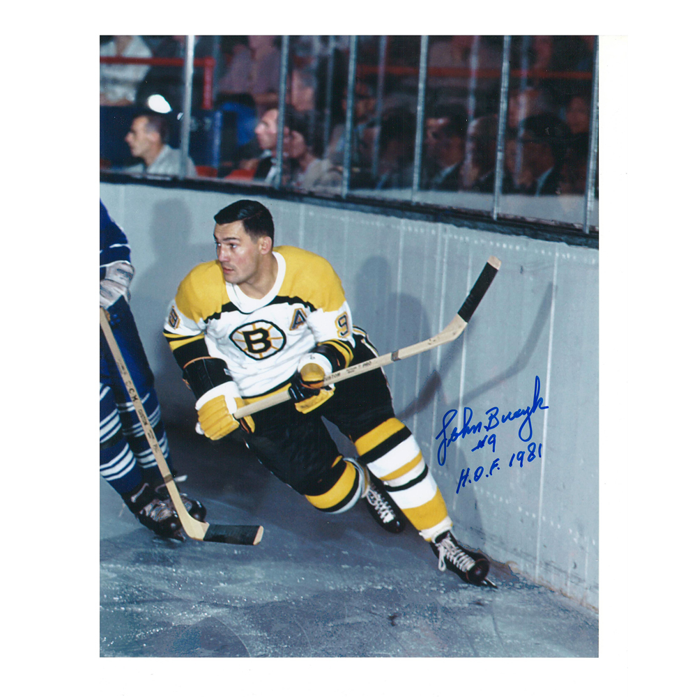 JOHN BUCYK Signed Boston Bruins 8 X 10 Photo - 70228