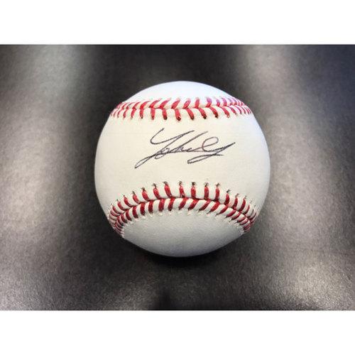 Giants Community Fund: Johnny Cueto Autographed Baseball