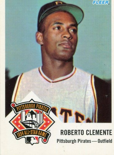Photo of 1994 FanFest Clemente #2 Roberto Clemente/1963 Fleer Reprint