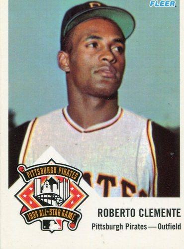 Photo of 1994 FanFest Clemente #2 Roberto Clemente/1963 Fleer Reprint