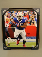 BILLS - CHARLES CLAY 11X14 SIGNED FRAMED PHOTO