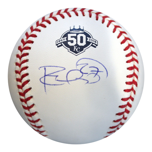 Photo of Autographed 50th Season Baseball: Adalberto Mondesi