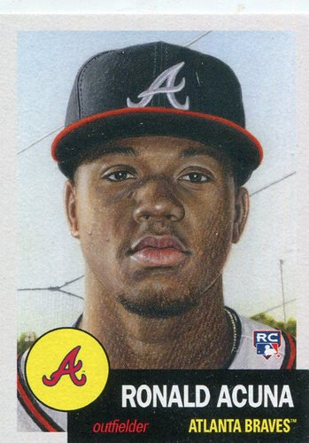 Photo of 2018 Topps Living #19 Ronald Acuna Rookie Card