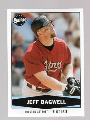 Photo of 2004 Upper Deck Vintage #83 Jeff Bagwell