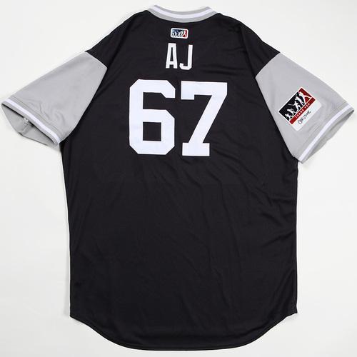 "Photo of AJ ""AJ"" Cole New York Yankees Game-Used Jersey 2018 Players' Weekend Jersey"