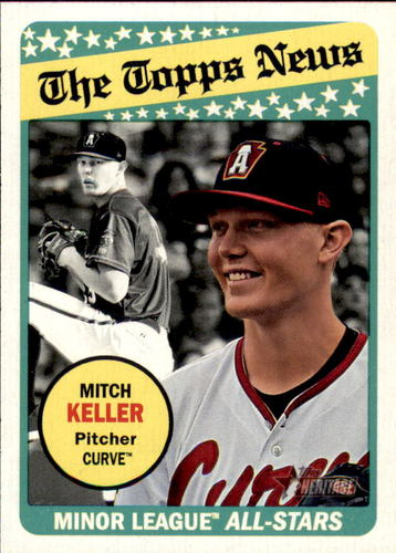 Photo of 2018 Topps Heritage Minors #189 Mitch Keller AS