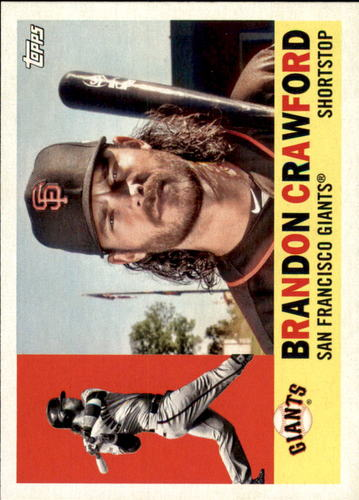 Photo of 2017 Topps Archives #79 Brandon Crawford