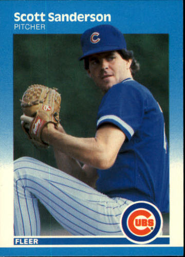 Photo of 1987 Fleer #573 Scott Sanderson