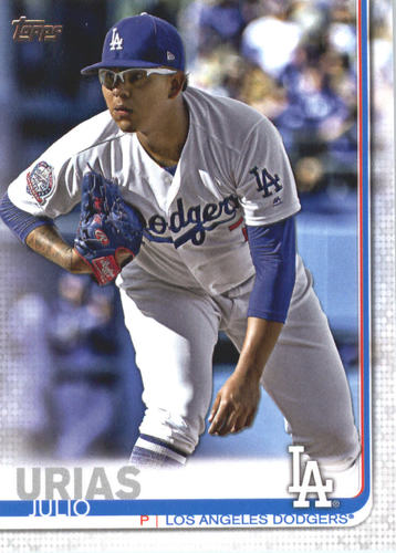 Photo of 2019 Topps #519 Julio Urias