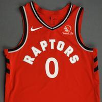 Terence Davis II - Toronto Raptors - Game-Worn Icon Edition Jersey - NBA Japan Games - 2019-20 NBA Season
